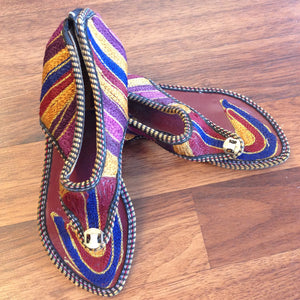 Embroidered Chappal