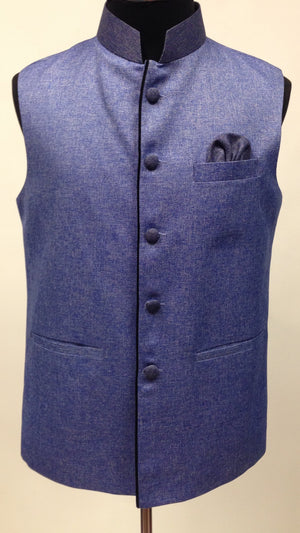Men's Silk Vest - Sarang