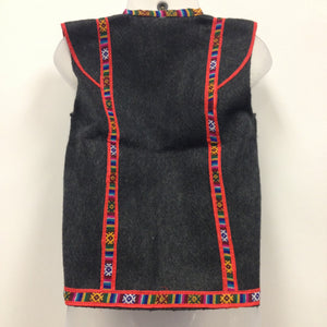 Kullu Woolen Jacket with Pocket from Himachal - Sarang