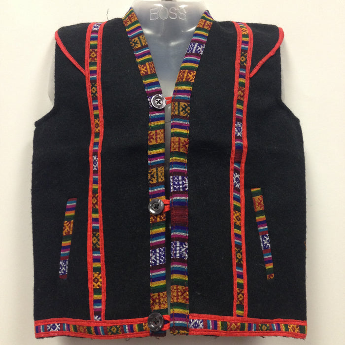 Kullu Woolen Jacket with Pocket from Himachal