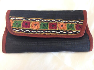 Banjara Wallet/ Clutch/ Card Holder/rabari hand-work,Mirror work - 2