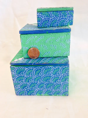 Terracotta Handcrafted Box set - 1