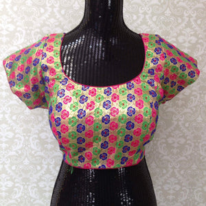 Shimmer Blouse-Multicolored - 1
