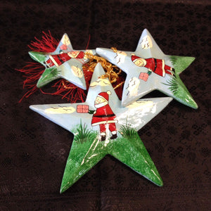Paper Meche Christmas Ornaments - 3