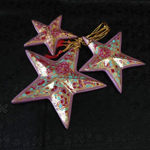 Paper Meche Christmas Ornaments - 7