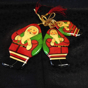 Paper Meche Christmas Ornaments - 8