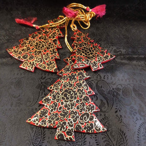 Paper Meche Christmas Ornaments - 9
