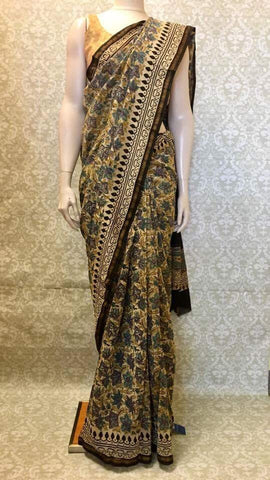 Cotton Kalamkari Saree - Sarang