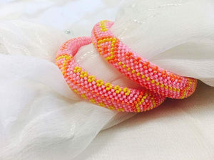 Beaded Bracelet/Bangle - Sarang