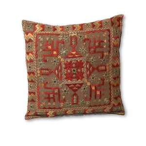 Single Kutchi Embroidered Pillow Cover