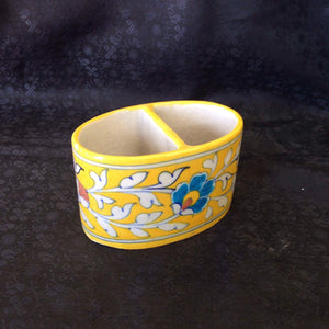 Ceramic Holder From Khurja - Sarang