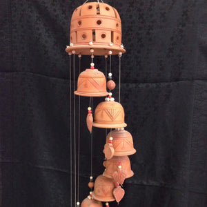 Terracotta Wind Chime - Sarang