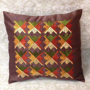 Silk Cushion Covers - Sarang