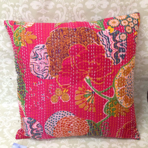 Cotton Quilted Cushion Cover