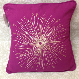 Embroidered Cushion Cover - Sarang