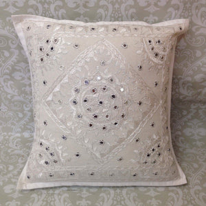 Kutchi Hand Embroidered Cushion Covers - Sarang