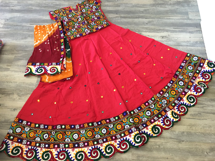 Designer traditional Garba Ghaghra Choli