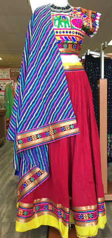 Designer traditional Garba Ghaghra Choli - Sarang