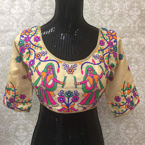 Readymade Garba Embroidered Blouse