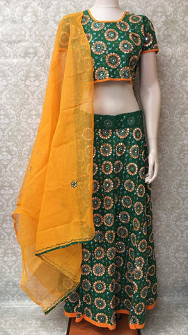 Traditional Chaniya Choli For Navratri