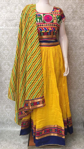 Lehenga Choli/Chaniya Choli/ Garbha Dress