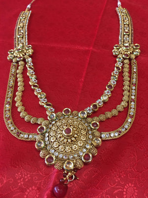 Gold Bridal Set - Sarang