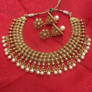 Indian Traditional Style Necklace - Sarang