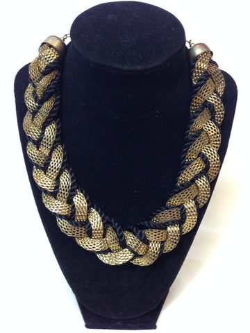 Black Thread Necklace - Sarang