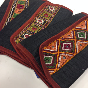 Banjara Wallet/ Clutch/ Card Holder/rabari hand-work,Mirror work - 3