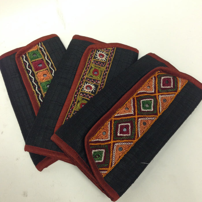 BD-Banjara Wallet/ Clutch/ Card Holder/rabari hand-work,Mirror work