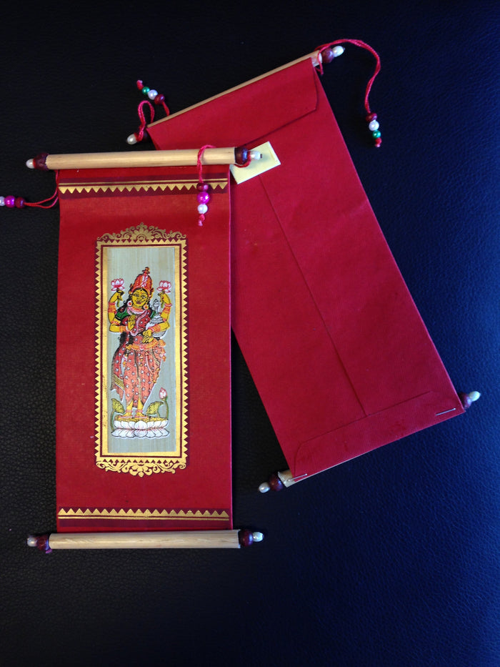 Pattachitra Envelope/Frameable Wall Hanging