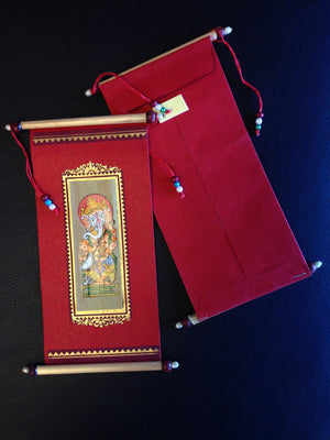 Pattachitra Envelope/Frameable Wall Hanging - 1