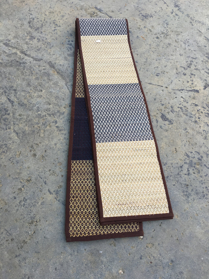Woven handmade table runner-available in two colors