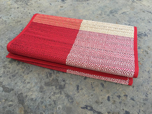 Woven handmade table runner-available in two colors - Sarang