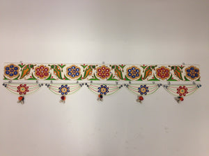 Lippan Kaam Toran (Mud & Mirror Work Decorative Door Hanging)