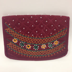 Embroidered batwa - 6