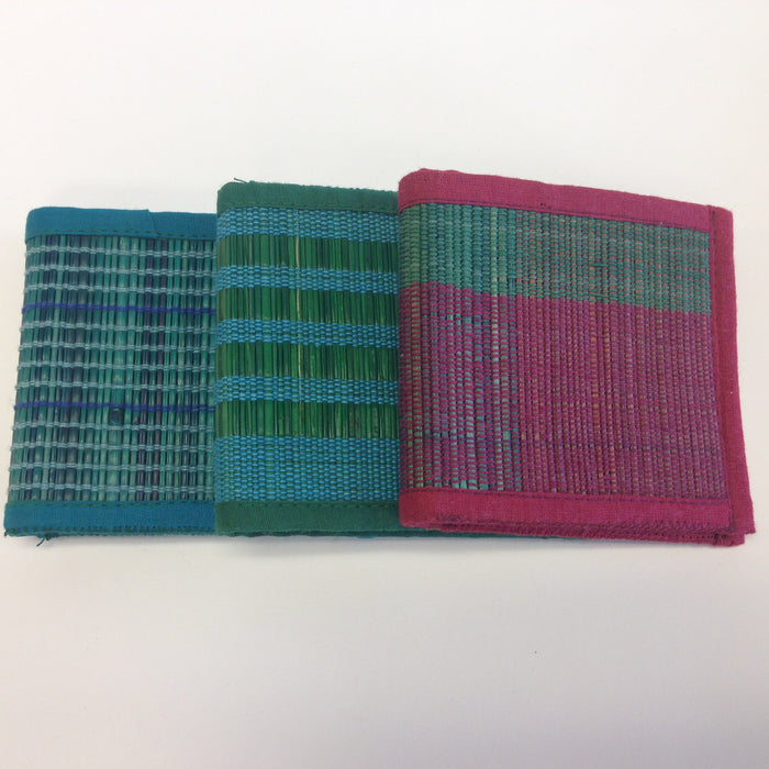 BD-Colorful Small mat wallets