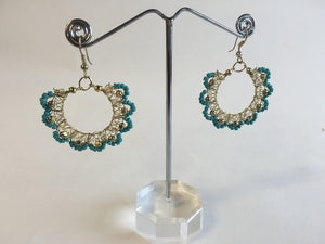 Handmade Bead Earrings - 1