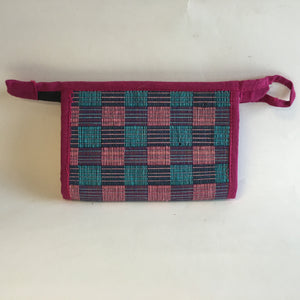 Multicolor mini mat clutch - 1