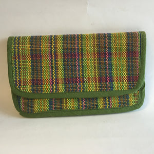 Green mat clutch - 1