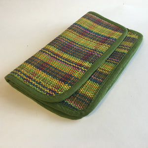 Green mat clutch - 2