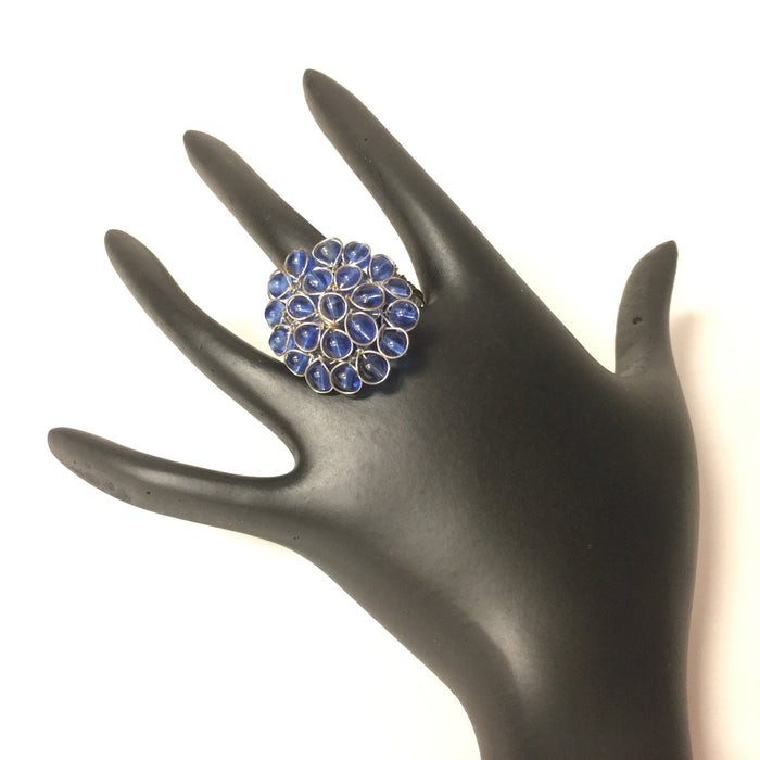 Antique Indian Ring - Blue