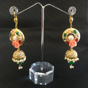 Antique Gold Earrings - 2