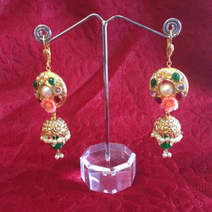 Antique Gold Earrings - 3