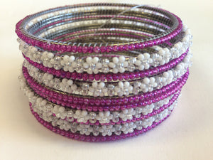 BEADED BANGLES SET - Sarang