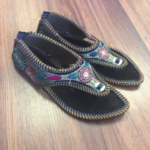 Girls Chappal - Black