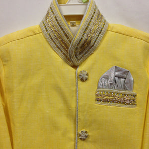 Yellow Kurta - Sarang