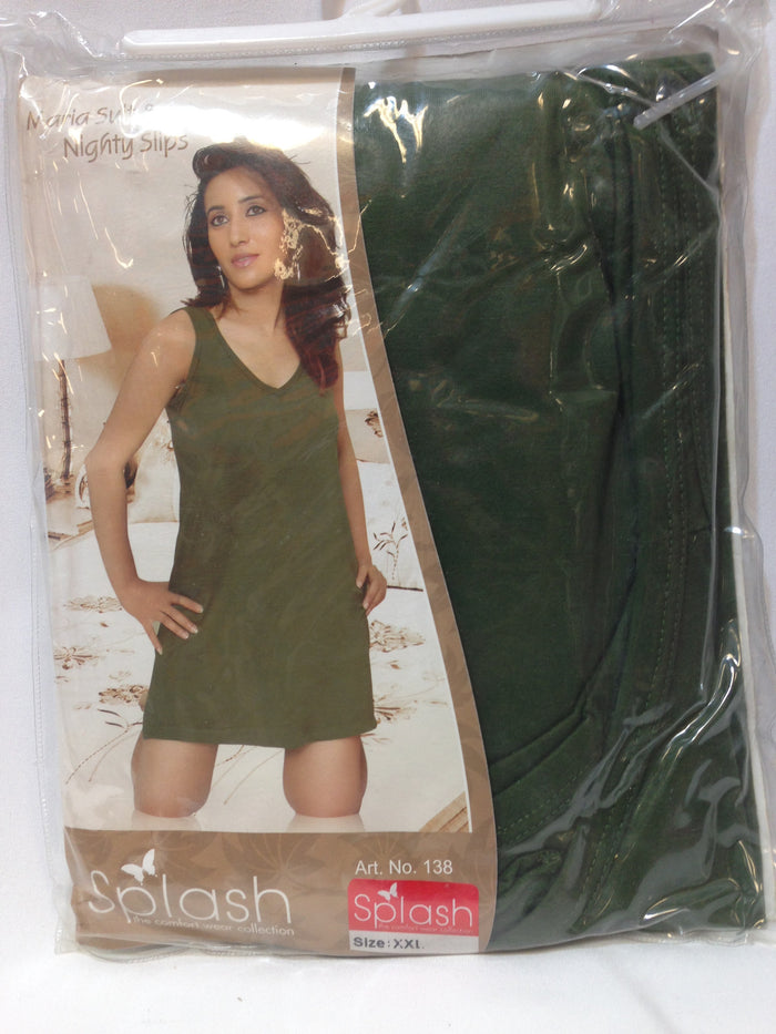 Women Splash Maria Suit & Nighty Slips - Green