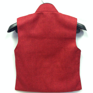 Waist Coat - Red - Sarang