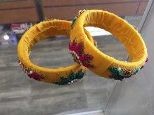 Silk Handcrafted Bangles